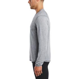 saucony Freedom - Camiseta manga larga running - gris